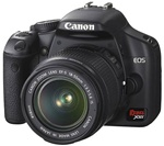 Canon EOS Rebel XSi APS-C Digital SLR Camera (Body Only)