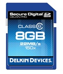 Delkin 4gb Secure Digital PRO2 150x SDHC Class 6