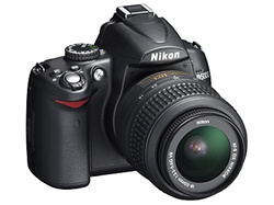Nikon D5000 DX-Format Digital SLR Camera (Body Only)